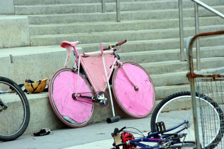 Bike Polo Bike Art Image