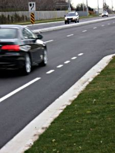 Bike Lane Intersection Image