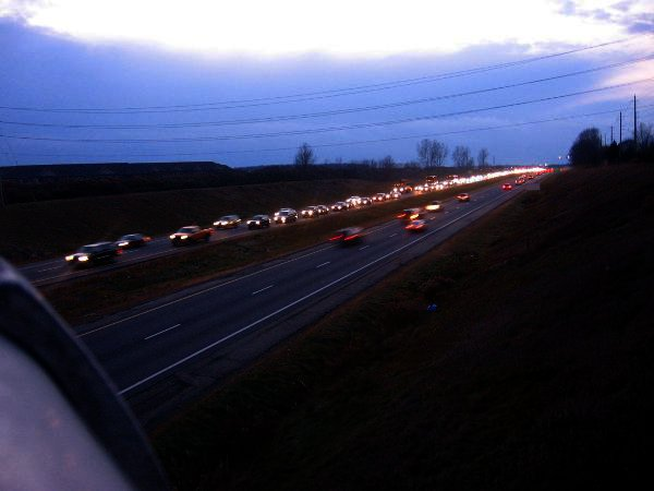 Conestoga Parkway at 5 PM Image