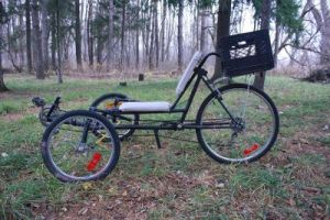 Home Made Recumbent Tadpole Trike