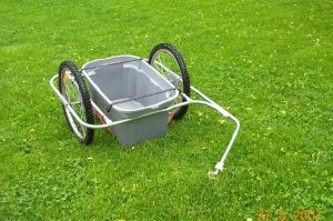 Custom Built Bike Trailer Image
