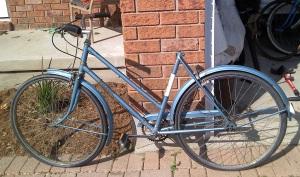 Found bike on road
