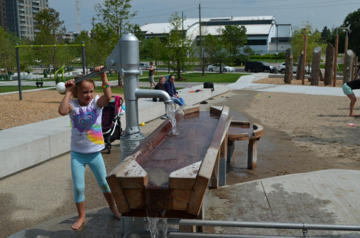 Waterloo Parks new playground, kids loved it!