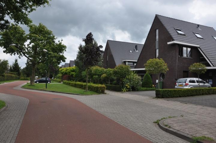 Residential street in Houten