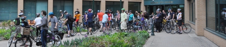 Uptown Streetscape council meeting ride